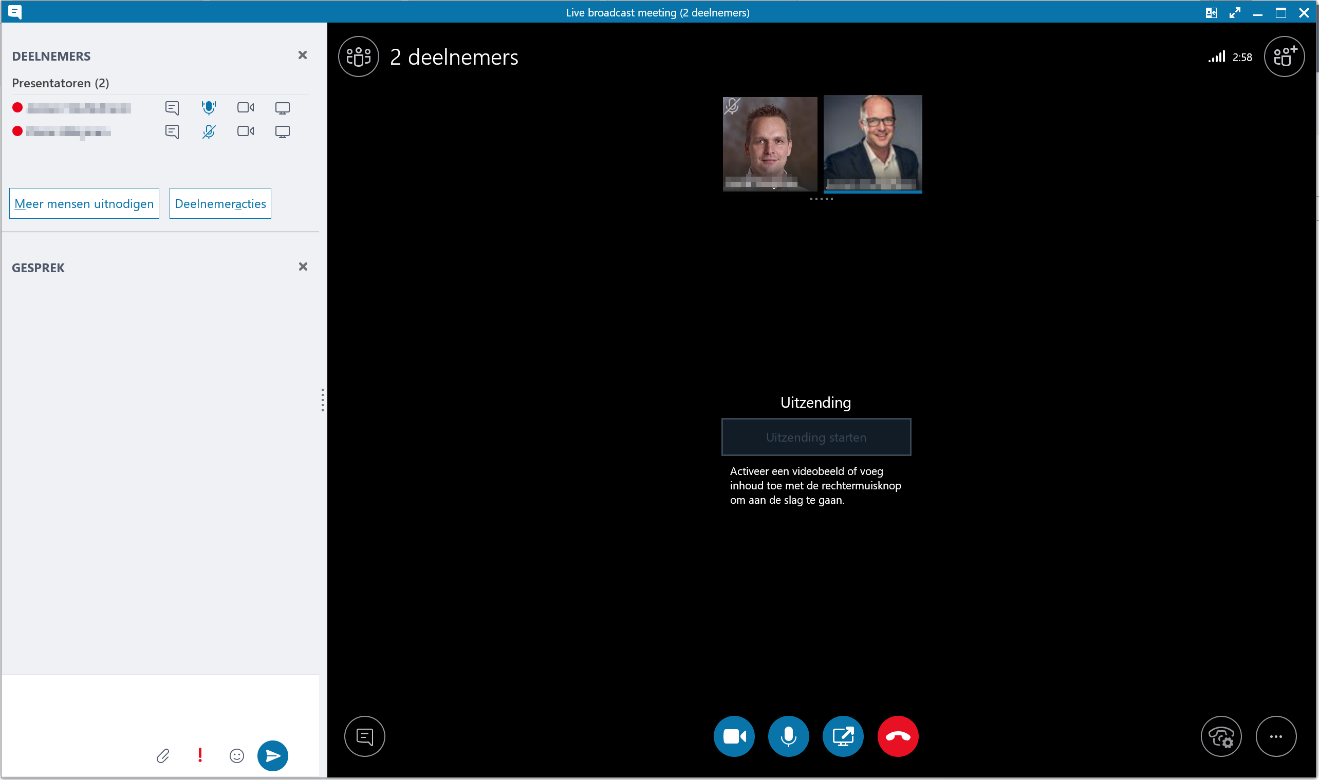 SfB Skype Meeting Broadcast